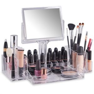 Beautify organizator za ličila z ogledalcem