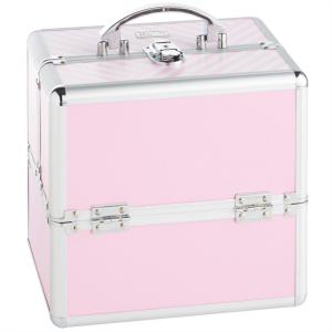 Beautify kovček za ličila Pink Vanity