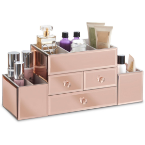 Beautify organizator za ličila Rose Gold