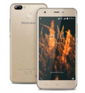 BLACKVIEW A7 PRO LTE ZLAT + Darilo: etui