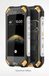 Blackview BV6000 mobilni telefon - črno rumen