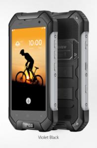 Blackview BV6000s mobilni telefon - črn