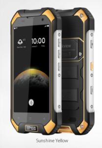Blackview BV6000s mobilni telefon - črno rumen