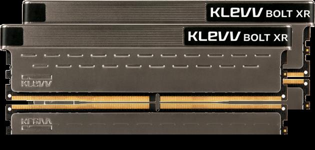 Klevv Bolt XR 16GB Kit (2x8GB) DDR4-3600MHz CL18, 1.35V