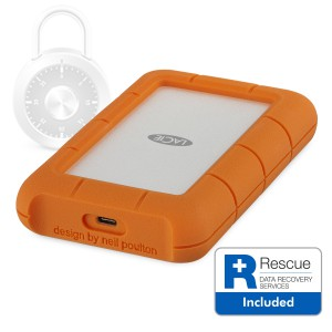 LaCie 2TB  Rugged SECURE