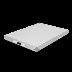 LaCie 1TB Mobile Drive, zunanji disk USB-C, srebrn