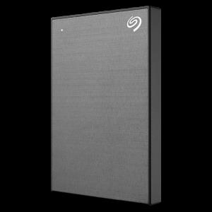 Seagate 1TB BackUp Plus Slim, prenosni disk 6,35cm (2,5) USB 3.0, siv