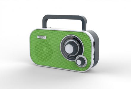 Camry prenosni radio zelen