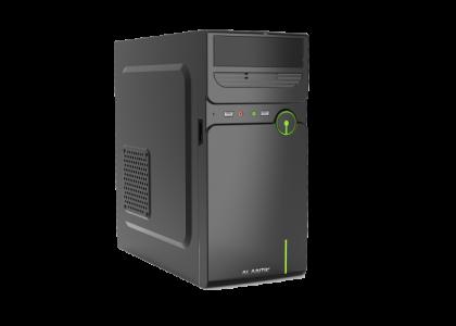 ALANTIK CASM12 mATX ohišje z 500W napajalnikom + čitalec kartic