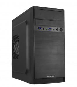 ALANTIK CASM52 USB3 mATX ohišje z 500W napajalnikom