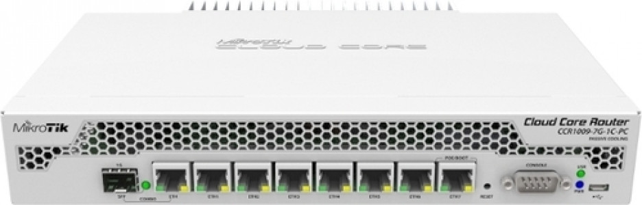 Mikrotik CCR1009-7G-1C-PC usmerjevalnik