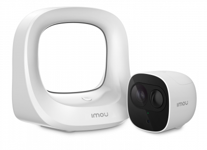 Imou Cell pro videonadzorni komplet  1 × kamera Cell Pro,  Brezžično | 1080P | Polnilna baterija | Zaznavanje PIR | Nočni vid | IP65 odporen na vremenske vplive | Oblak