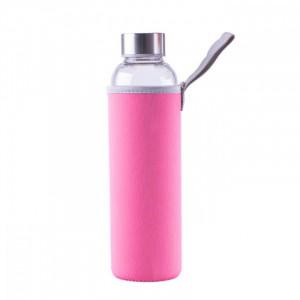 Steuber steklena flaška v etuiju 1000ml, roza