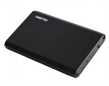 "Chieftec CEB-2511-U3 zunanje ohišje, 2.5"" SATA, USB 3.0, črno"