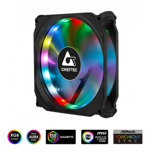 Chieftec TORNADO RGB ventilator 120mm