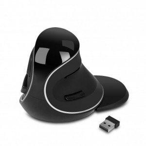 SPIRE brezžična ergonomska miška PL, vertikalna