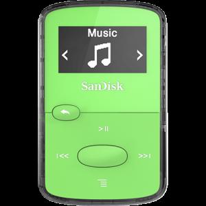 SanDisk CLIP JAM MP3 predvajalnik 8GB zelen