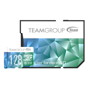 Teamgroup Color Card II 128GB MicroSDHC/SDXC UHS-I U3 90MB/s spominska kartica