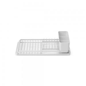 Brabantia kompaktna podloga za sušenje posode svetlo siva