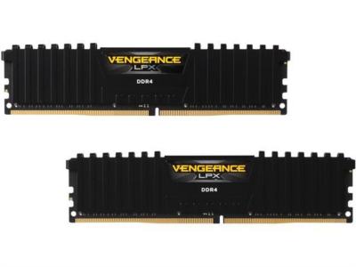 CORSAIR DDR4 16GB (2X8GB) CL16 2400 DIMM Vengeance