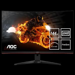 AOC CQ32G1 31.5'' 144Hz QHD ukrivljen gaming monitor - poškodovana embalaža