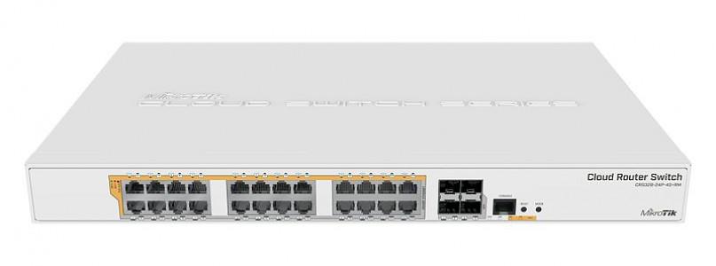 Mikrotik CRS328-24P-4S+RM MikroTik Cloud Usmerjevalnik/Stikalo