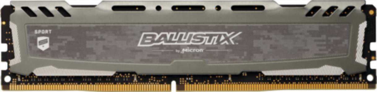 CRUCIAL 16GB DDR4 2666 CL16 1.2V DIMM Ballistix Sport LT, siv