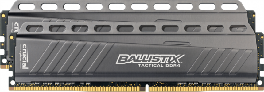 CRUCIAL 16GB kit (8GBx2) DDR4 3000 CL15 1.35V DIMM Ballistix Tactical