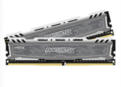 CRUCIAL 32GB Kit (16GBx2) DDR4 2400 CL16 1.2V DIMM Ballistix Sport LT