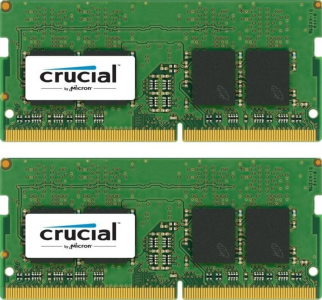 CRUCIAL 32GB KIT (16GBx2) 2400 DDR4 1.2V CL17 SODIMM