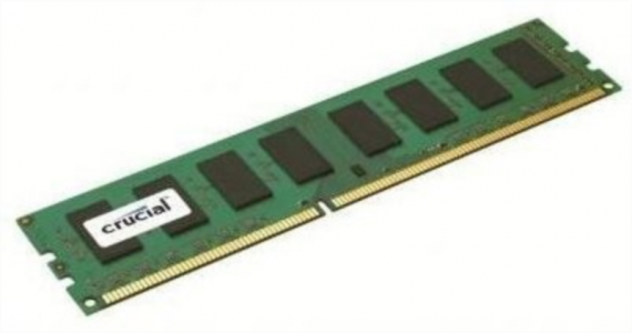 CRUCIAL 4GB DDR3L 1600 PC3-12800 CL11 1.35V single rank