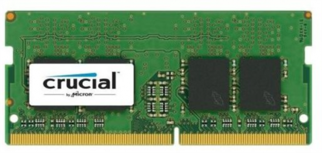 CRUCIAL 4GB 2400 DDR4 1.2V CL17 SODIMM