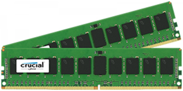 CRUCIAL 8GB KIT (4GBx2) DDR4 2400 CL17 1.2V DIMM