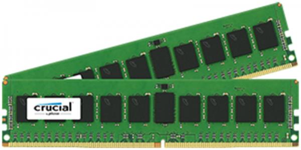 CRUCIAL 8GB KIT (4GBx2) DDR4 2400 CL17 1.2V DIMM