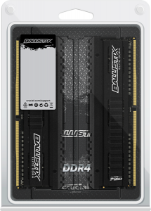 CRUCIAL 8GB kit (2x4GB) DDR4 2666 CL16 1.2V DIMM Ballistix Elite