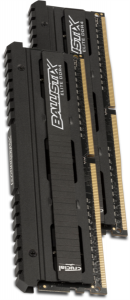 CRUCIAL 8GB Kit (4GBx2) DDR4 3200 CL16 1.35V DIMM Ballistix Elite