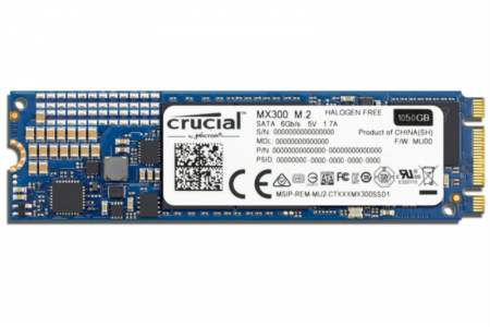 Crucial MX300 1TB SSD M.2 Type 2280SS