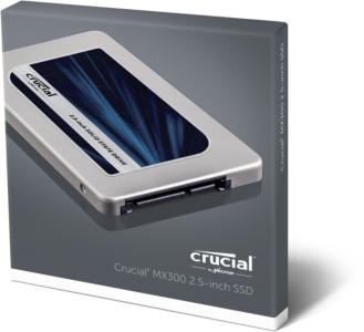 "Crucial MX300 275GB SSD SATA3 2.5"" disk 7mm + 9.5mm adapter"