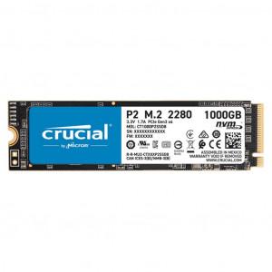 CRUCIAL P2 SSD 1TB M.2 80mm PCI-e 3.0 x4 NVMe, 3D QLC,