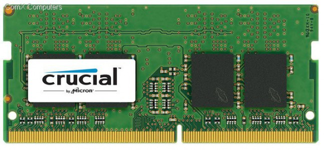 Crucial 16GB DDR4-2400 SODIMM PC4-19200 CL17, 1.2V