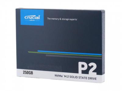 Crucial P2 250GB PCIe M.2 2280 SSD NVMe, 3D QLC