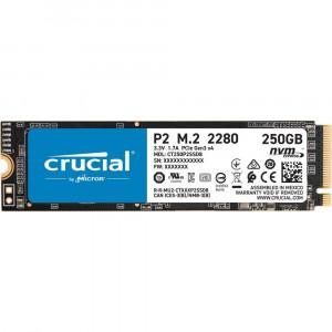 Crucial P2 250GB 3D NAND NVM PCIe M.2 SSD