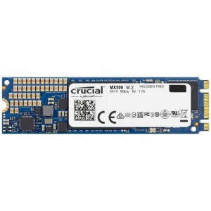 CRUCIAL MX500 SSD 500GB M.2 80mm 2280 SS SATA3 3D TLC