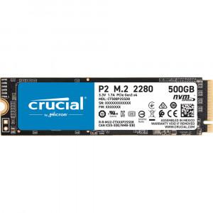 Crucial P2 500GB 3D NAND NVM PCIe M.2 SSD