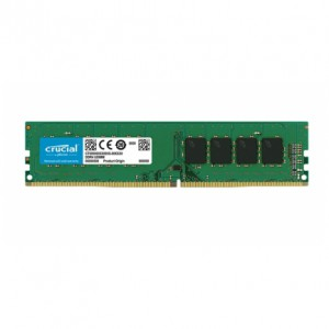 Crucial 8GB DDR4-2666 UDIMM PC4-21300 CL19, 1.2V