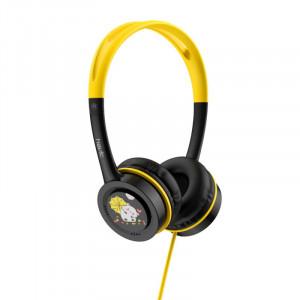 HAVIT slušalke z otroškim motivom H210d Črno-rumene