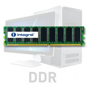 Integral 1GB DDR-400 UDIMM PC-3200 CL3, 2.5V