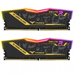 Teamgroup Delta TUF Gaming Alliance RGB 16GB Kit (2x8GB) DDR4-3200 DIMM PC4-25600 CL16, 1.35V