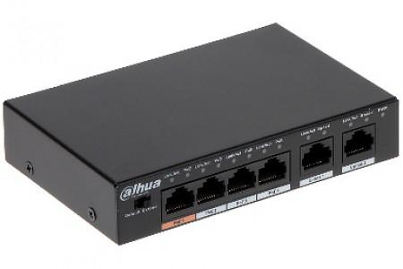Dahua mrežno stikalo PFS3006-4ET-60