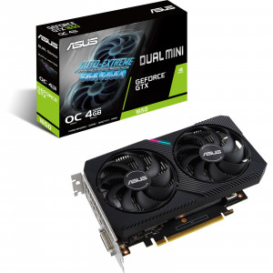 Grafična kartica ASUS GeForce GTX 1650 DUAL MINI, 4GB GDDR6, PCI-E 3.0